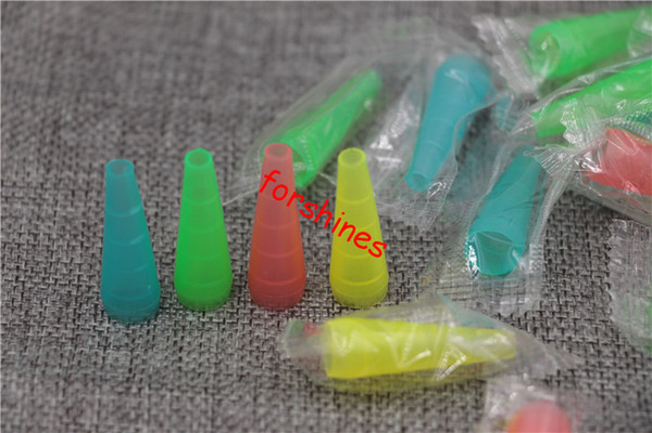 100pcs/lot free shipping USA Disposable e cig drip tip shisha water pipe e hookah plastic 510 mouthpiece long drip tips individual package