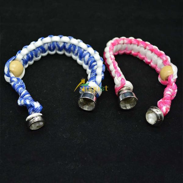 top popular smoking bracelet stealth pipe stash bracelet pipe stash storage discreet for click n vape tobacco sneak a toke 2020