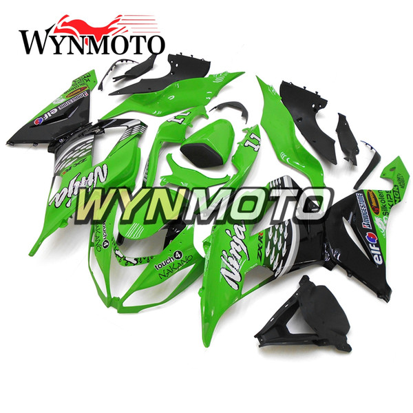 Fairings For Kawasaki ZX-6R 636 2013 2016 2014 2015 Cover Injection ABS Plastic Motorcycle Panel ZX6R 13-16 14 15 Frame Green Panel Bodywork