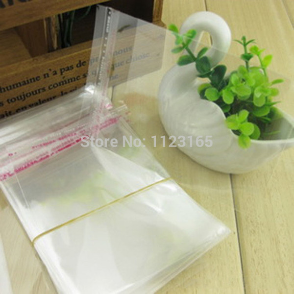 500pcs/lot 13*13.5cm Clear Self Adhesive Seal plastic OPP bag-sheer pack music box/usb/phone plastic pouch, reusable toy poly sack