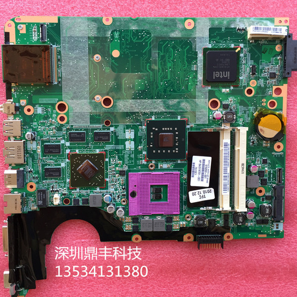 516293-001 board for HP pavilion DV7 DV7-2000 laptop intel motherboard with M96/1G chipset free shipping