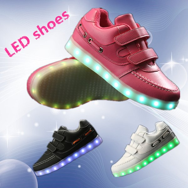 LED Kids Sneakers Fashion USB Charging Luminous Lighted Colorful Lights Shoes Girls Boy Children Sneakers Mens Loafers Buy Shoes Online From