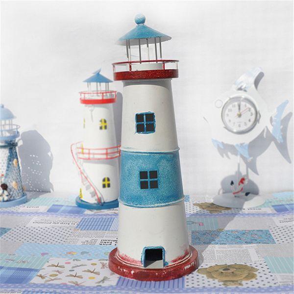 Lighthouse European Castle Miniature Fairy Garden Home Houses Decoration Mini Craft Micro Landscaping Decor DIY Accessories