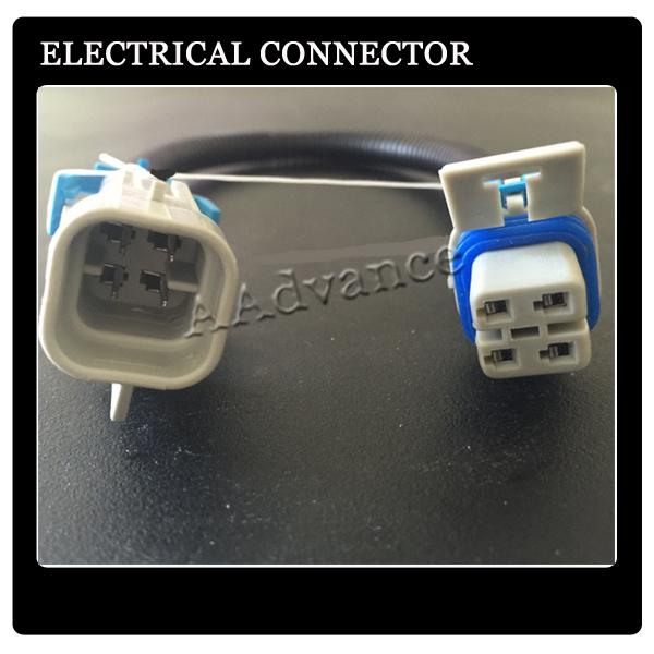 Square 4 Pin LS1 LS2 LS6 GM Oxygen 02 Sensor Extension Wiring Harness on