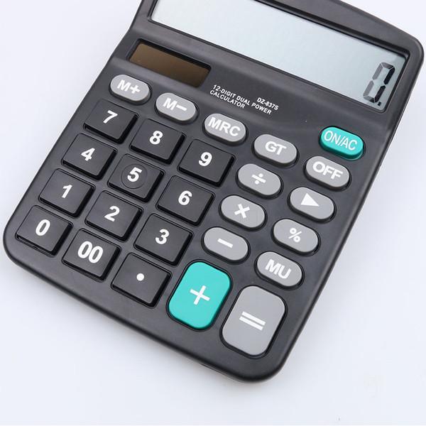 Calculadora Solar Comercial Business Calcule Bateria de Ferramentas Comerciais ou Solar 2em1 Alimentado 12 Dígitos Calculadora Eletrônica e Botão