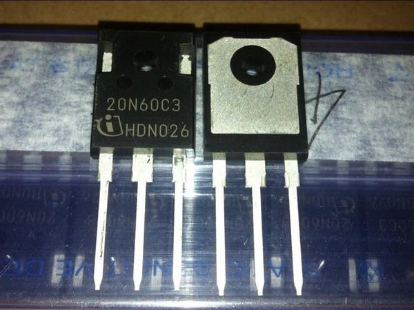Livraison gratuite SPW20N60C3 20N60C3 20N60 20.7A 650V TO247 nouvelle et originale instock 10PCS / LOT