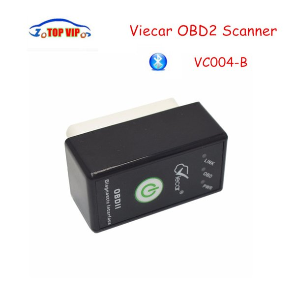 Wholesale- Lowest Price!! Viecar VC004-B v2.1 OBD2 Car Diagnostic Tool Viecar Code Reader Scanner Good Quality Support 7 Protocols