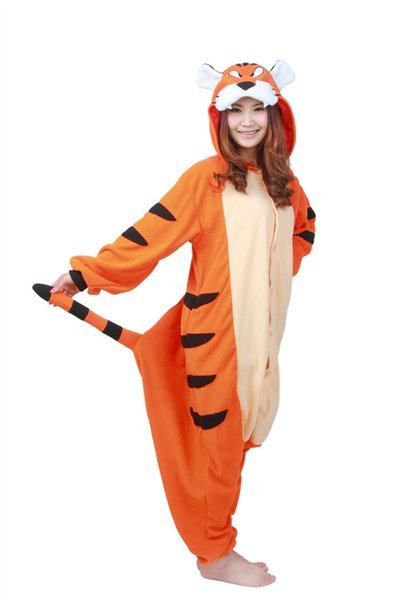 SS latest version Adult unisex Bengal tiger pajamas cartoon lovers animal conjoined household to take