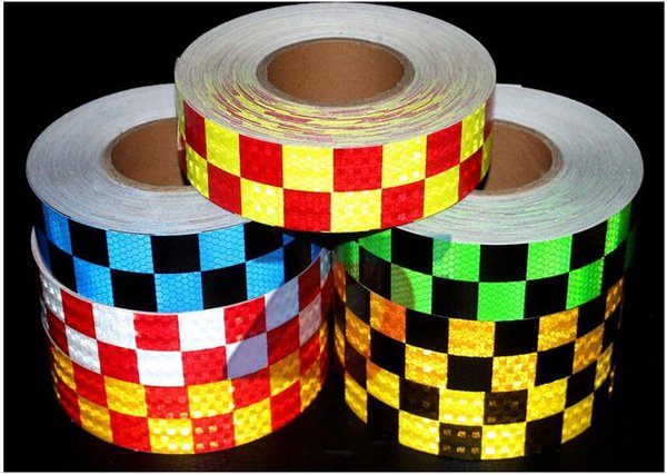 best selling Reflective sticker tape for truck car motorcycle van traffic signal reflective warning tape