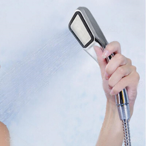 best selling 300 hole Pressurized Water Saving Shower Head ABS With Chrome Plated Bathroom Hand Shower Water Booster Showerhead