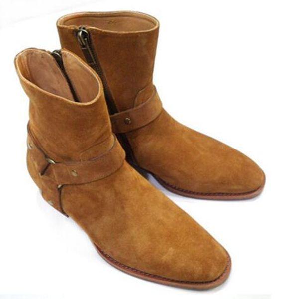 Cheap Hot Newest Super Star Men Boots Western Cowboy Boots Casual ...