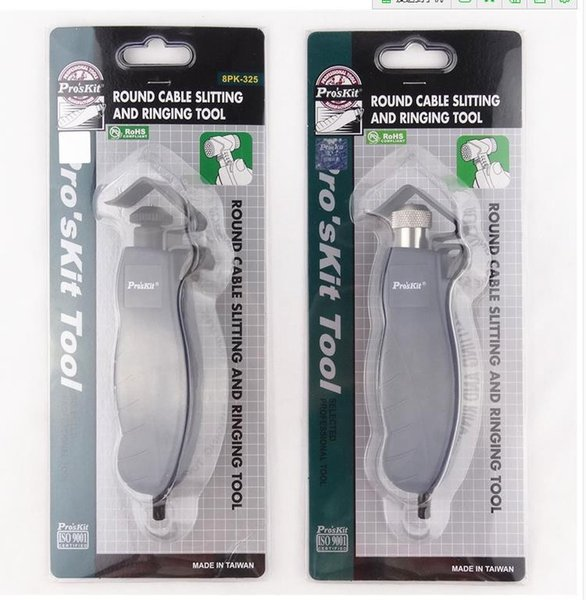 Pro/'sKit 8PK-325 Wire Cable Stripper Round Cable Slitting Ringing Tool 4.5-25mm