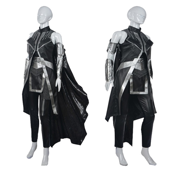 New Exclusive Movie Cos X Men Storm Ororo Munroe Women Costume Cosplay Costume Custom Made Halloween Theatrical Costumes Cheap Halloween Costume From