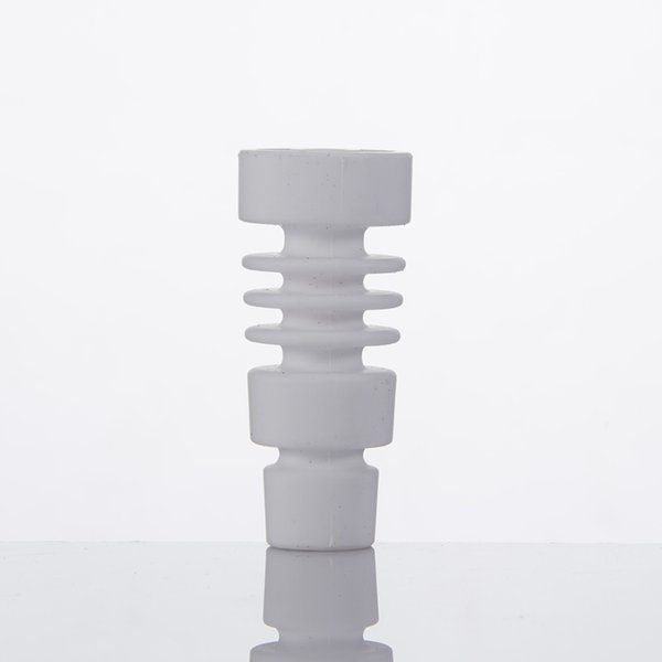 Domeless Male Female Ceramic Nail Universal Fits 14mm 18mm Joint Free Shipping Also Offer Quartz Titanium Banger Dozer Nail