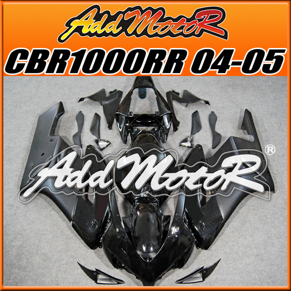 5 Free Gifts!! Addmotor New Goods Best Selling Injection Mold Fairings Fit Honda CBR1000RR 2004 2005 CBR 1000RR 04 05 Body Work Black H1409