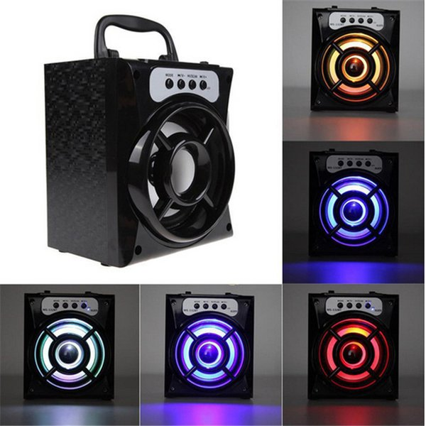 MS-132BT Portable Mini Wireless Bluetooth Speaker FM Radio Powerful Subwoofer Outdoor Music Playing Support USB TF/Micro SD Card MOQ:10PCS