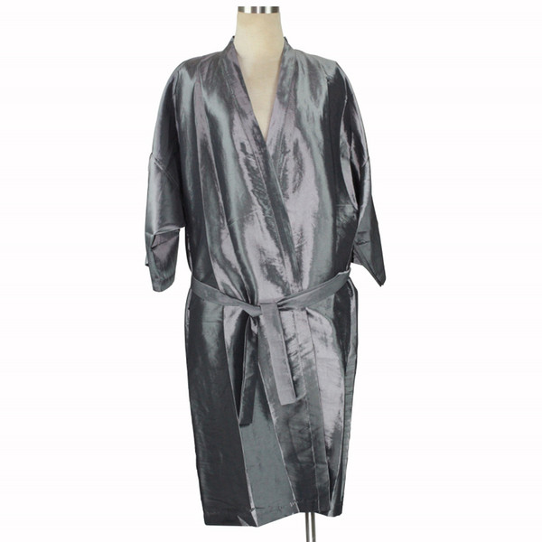 Super Comfotable Cloth Hairdressing Kimono Professional Beauty SPA Gown Robe Salon Hair Styling Barber Cape Wrap