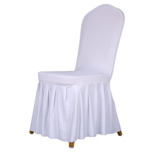 7 Colors Stretch Dining Chair Cover Restaurant For Weddings Banquet Hotel Spandex