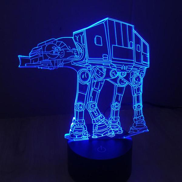 """Résultat de recherche d'images pour """"lampe 3D LED AT-AT"""""""