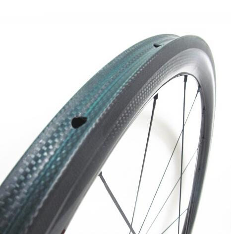 700Cx23W light weight full carbon bike tubular road wheelset Novatec enduro hubs built for cycling freeshipping now