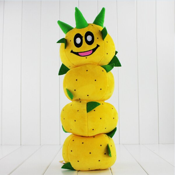 New Arrival Super Mario Bros Caterpillar Pokey Sanbo Cactus Plush Doll Toy 40cm High Quality Free Shipping EMS