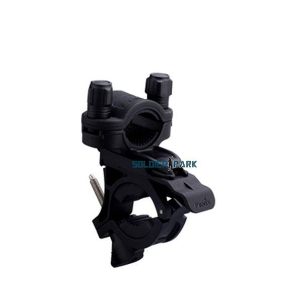 Fenix Durable Quick-Release Bike Mount Night Riding Bicycle Mount Clamp Bracket Holder Torch Clip for LED Tactical Flashlight order<$18no tr