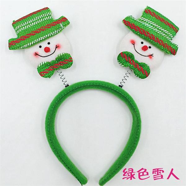 Green Snowman 7pcs
