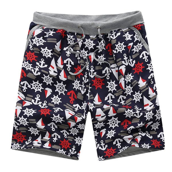 Wholesale-Attractive 2016 Top Design 1PC Men'S Summer Fashion Shorts Printing Men'S Shorts Casual Beach Trousers Free Shipping AP 21