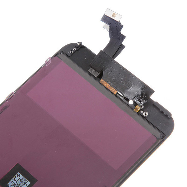 Black and white Glass Touch Screen Digitizer & LCD Assembly Replacement For iPhone 5 5G 5C 5S DHL EMS Free Shiping