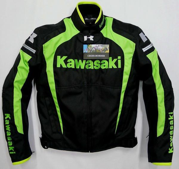 Body Armor Motos Homens Nova Chegada Kawasaki - Inverno Automobilismo Roupas de Corrida Motocicleta Liner Removível Térmica Flanchard