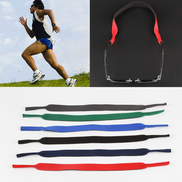 top popular NEW Spectacle Glasses Sunglasses Stretchy Sports Band Strap Belt Cord Holder Neoprene Sunglasses Eyeglasses Outdoor DHT333 2021