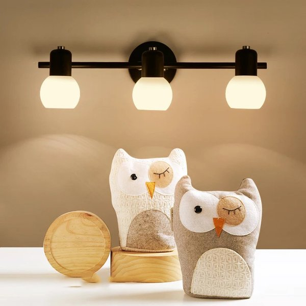 Acheter Dresser Lentille Phare Toilettes Salle De Bains Ark Miroir Miroir Led Lampes Modernes Et Des Lanternes Applique Domestique Applique Contracted