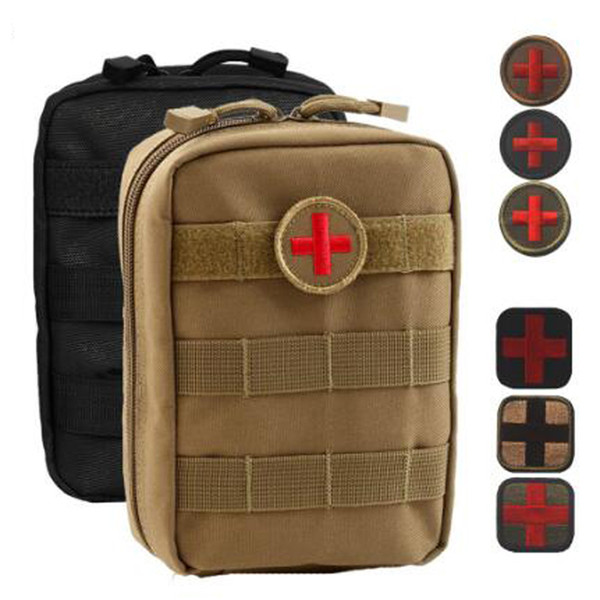 Outdoor 4 Colors Emergency Bag Tactical Medical First Aid Kit Waist Package Camping Traveling Tactical Medical Storage Bags