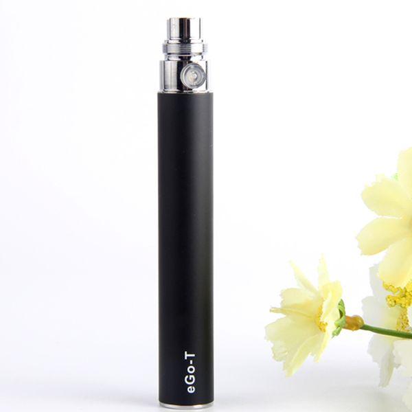 MOQ 5Pcs 510 eGo-t Vape Pen E Cigarette Battery EGO Vaporizer 650mah 900mah 1100mah Vaping Ecig Pens USB Charger High Quality By ePacket
