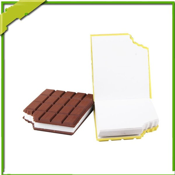 Chocolate Notepad Silicone Office Supplies For Student Waterproof Notebook Portable Uniquely Shaped Jotters Creative Colorful 4 2wf R