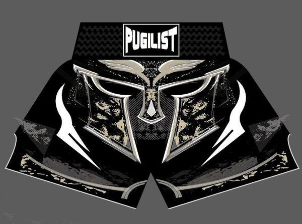 best selling PUGILIST MMA K-1 short helmet MUAY THAI SHORTS FIGHT SHORTS sport Muay Thai Boxing shorts The new brand of good quality