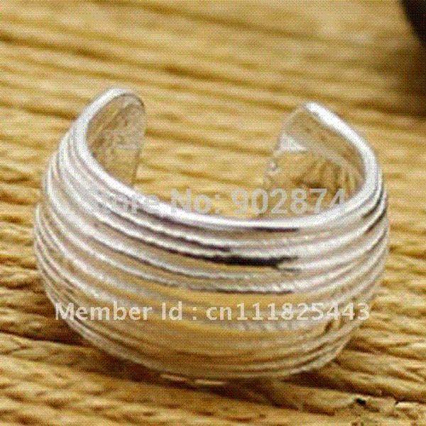 One pair Fine Ear Stud Ear Cuff 925 Sterling Silve Ear Clips Cartilage Wraps Clip Earrings Accessories gifts for men/women 20#