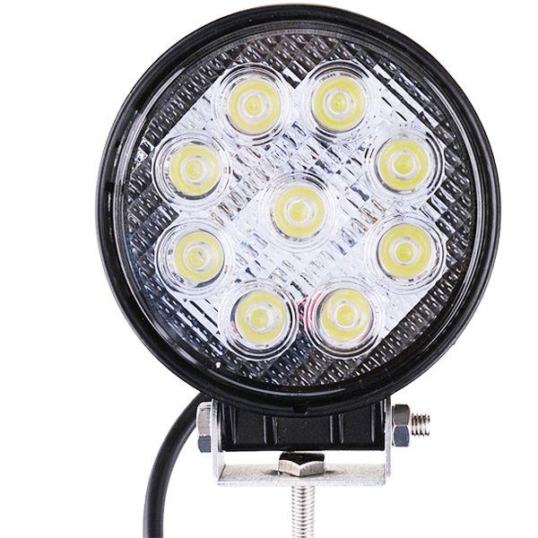 27W high Brightness LED work light floodlight tractor truck off-road SUV 12V-24V LED Spot Driving Fog Light Daytime Running light