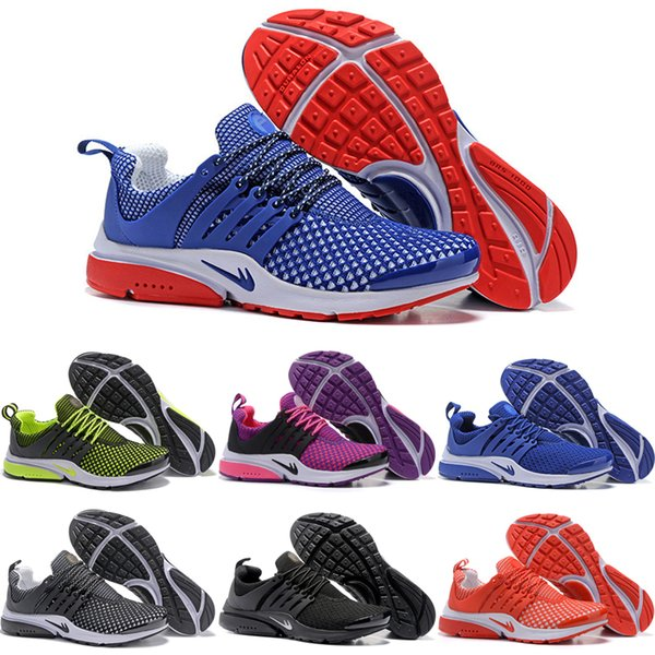 2c840c45930 2019 Wholesale 2016 Cheap Running Shoes Men Women Presto Low Weaving  Jogging Shoes Original Sneakers Sports Shoes Size 5.5 12 From Forward_05,  ...