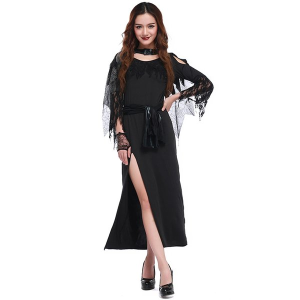new 2017 Halloween night ghost witch COS clothing Witch vampire costume party