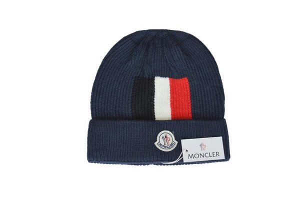 2017 beanies unisex cap the hundreds Brand New High-Quality winter hat pom poms knitted hats made of