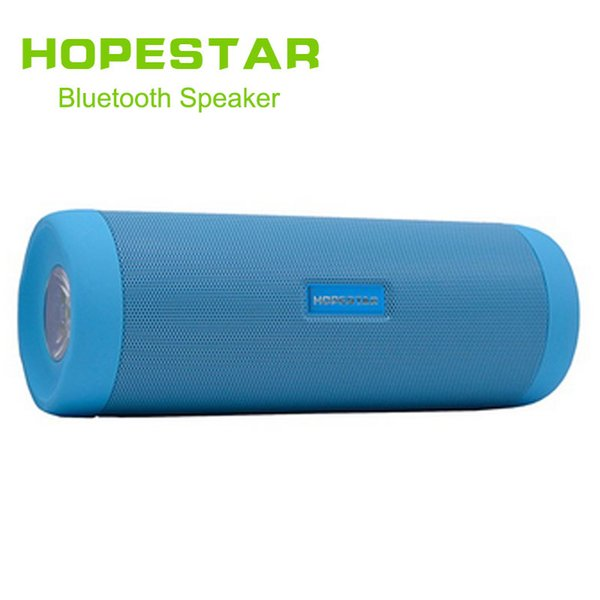 HOPESTAR P4 Waterproof Bicycle Wireless Bluetooth Car Speaker With LED Flashlight Charge Power Bank Bike Mount Holder TF FM