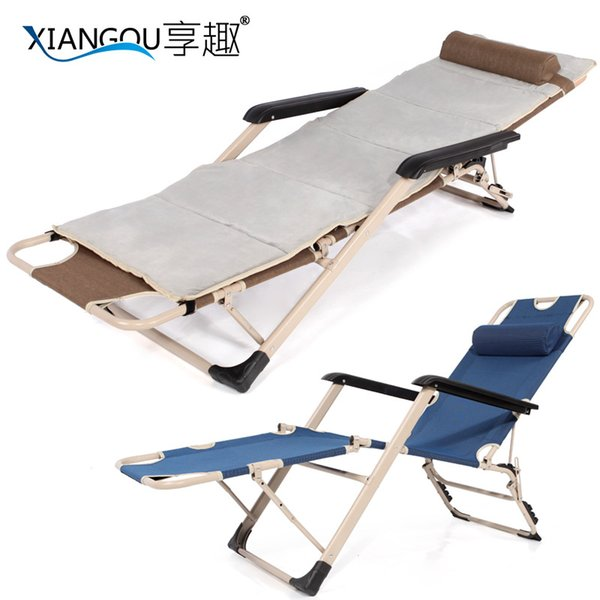 4 simple folding bed chair office lunch nap bed single bed folding chair camp bed chair