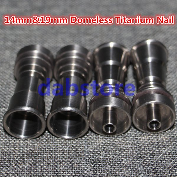 wholesale Universal Domeless Titanium Nail for Male or Female Joints Adjustable Titanium Nail 6 IN 1 free shipping