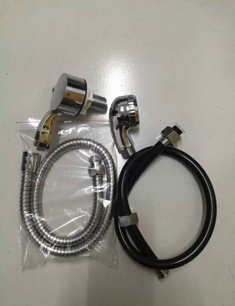 Barber Shop Wash Hair Basin Four Piece Sets of Faucet Shower Accessories Salon Special Products 1 Meter Shower Hose