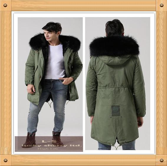 3c907afe263 MR.   MS. 2015 New Europe Winter Men S Cotton Padded Jacket  Army ...