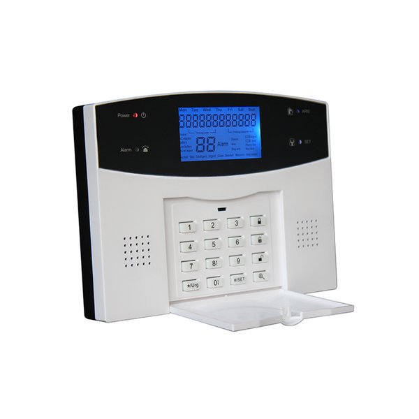 sms remote control sim mobile gsm host house alarm systems rfid wireless fashion keypad with iphone Android App alarm control kit panel