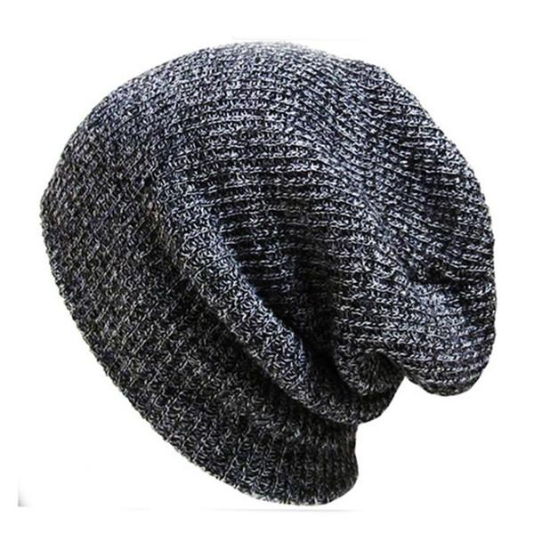 2016 NEW HOT Unisex Solid Winter Beanies Hats Plain Warm Soft Beanie Skull Knitted Cap Hip-hop Hat Touca Gorro Caps for Men Women