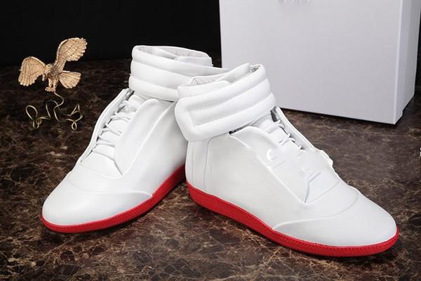 Precio Hombre Francia Marca Estilo Botines Alto Top Invierno Otoño Sirve Botas cortas Casual Pisos Zapatos Punta redonda Calzado