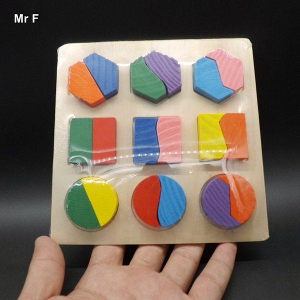 Wooden Blocks Toys Geometry Pattern Children's Educational Toy For Baby Boy And Girl Gift Teaching Toy Fun Gift Game Kid